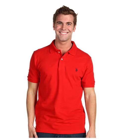 Tricouri U.S. Polo Assn - Pony Solid Pique - Red
