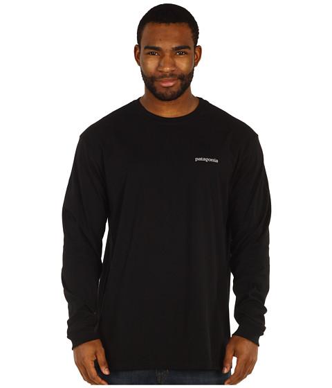 Tricouri Patagonia - L/S Fitz Roy Car T-Shirt - Black