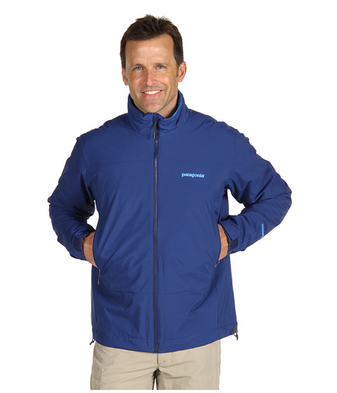 Jachete Patagonia - Solar Wind Jacket - Channel Blue