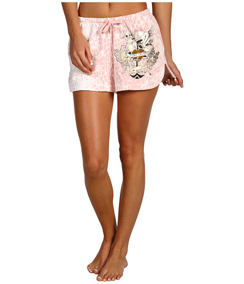 Pantaloni Ed Hardy - Mini Short - Bubble Gum