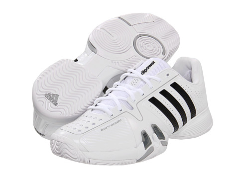 Adidasi adidas - adipowerâ⢠barricade 7.0 - Running White/Black/Light Onix
