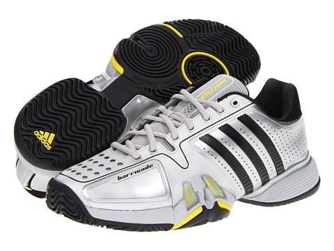 Adidasi adidas - adipowerâ⢠barricade 7.0 - Metallic Silver/Black/Vivid Yellow