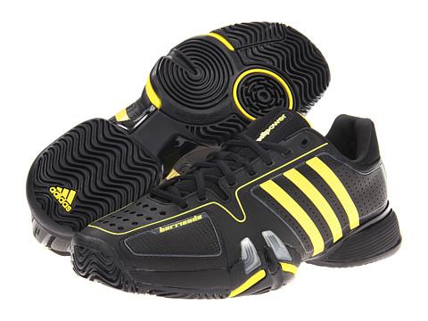 Adidasi adidas - adipowerâ⢠barricade 7.0 - Black/Vivid Yellow