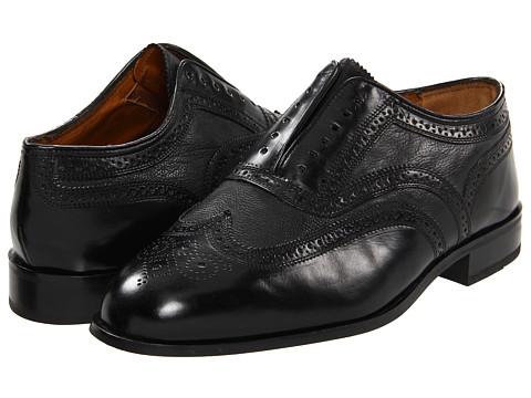 Pantofi Florsheim - Bru Wing Limited - Black Leather
