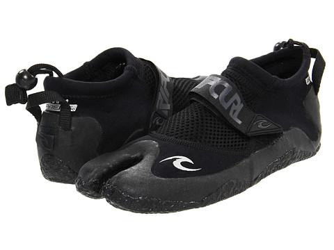 Adidasi Rip Curl - Reefer Low Split Toe Booties 1.5MM - Black/White