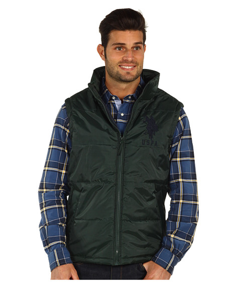 Jachete U.S. Polo Assn - Big Pony Vest - Winter Pine