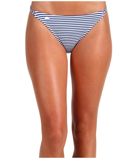 Special Vara Lacoste - Bi-Color Stripe Bikini Bottom - Symphony Blue/White