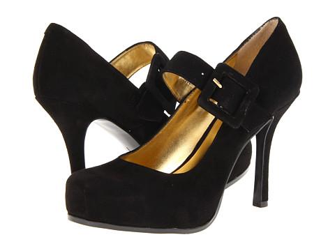 Pantofi Nine West - 7Wildginger - Black Suede