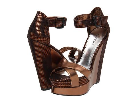Pantofi Bebe - Paisley - Bronze Metallic