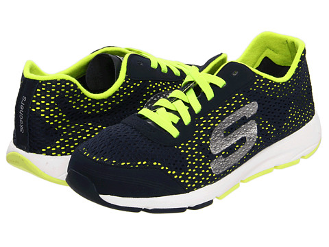 Adidasi SKECHERS - Entourage - Navy/Lime