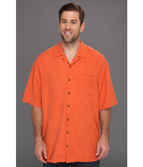 Camasi Tommy Bahama - Big & Tall Bird It Through Grapevine Camp Shirt - Light Tangelo
