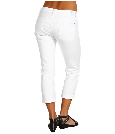 Blugi 7 For All Mankind - Skinny Crop And Roll in Clean White - Clean White