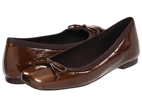 Balerini Stuart Weitzman - Shoestring - Nut Vintage Patent