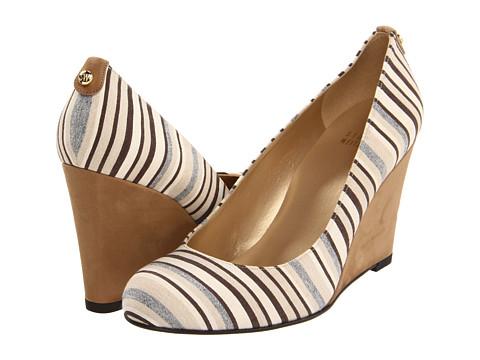 Pantofi Stuart Weitzman - Logoswoon - Beige Ticking
