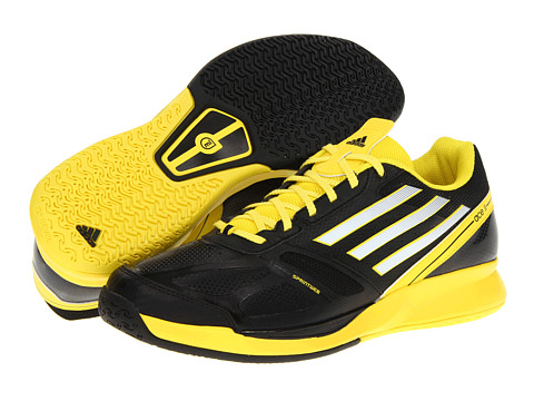 Adidasi adidas - adizeroâ⢠Ace 2.0 - Black/Running White/Vivid Yellow