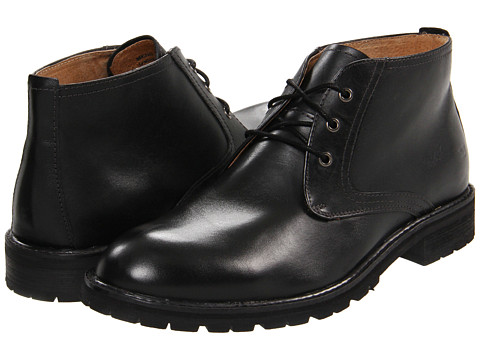 Ghete Florsheim - Gaffney Chukka - Black Smooth Leather
