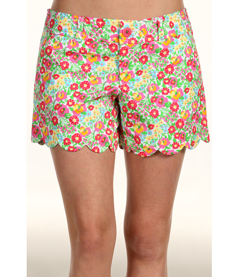 Pantaloni Scurti Lilly Pulitzer - Walsh Short - Resort White Mini Gardens By The Sea