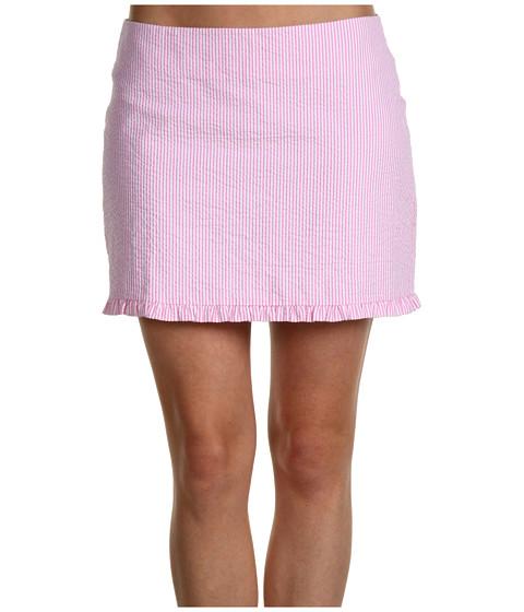 Fuste Lilly Pulitzer - Callie Skirt - Hotty Pink Lucky Seersucker