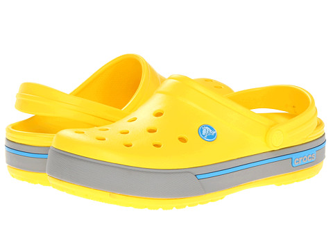 Sandale Crocs - Crocband II.5 Clog - Yellow/Light Grey