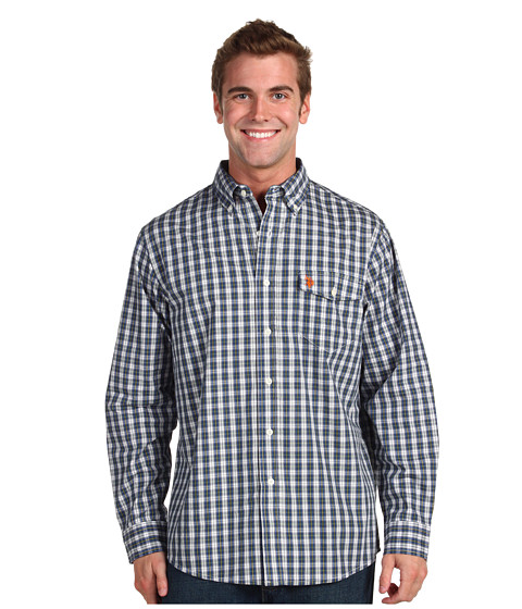Camasi U.S. Polo Assn - YD Plaid-3Q - Blue/Green Plaid