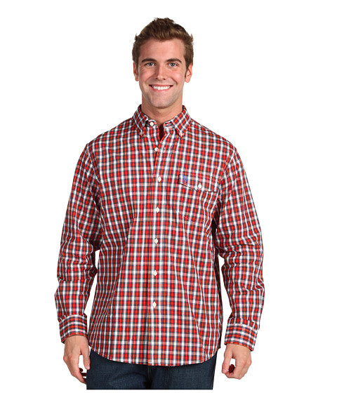Camasi U.S. Polo Assn - YD Plaid-3Q - Red Plaid