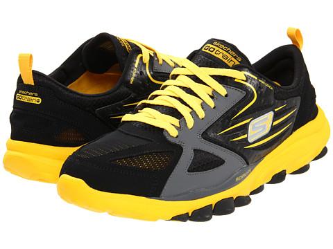 Adidasi SKECHERS - GOTrain - Black/Yellow