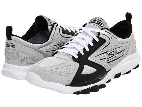 Adidasi SKECHERS - GOTrain - Light Grey/Black