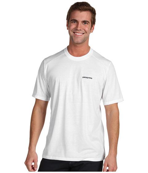 Tricouri Patagonia - Polarized T-Shirt - Patagonia Logo/White