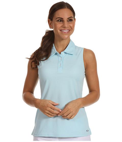 Tricouri Oakley - Tourney Sleeveless Polo Top - Blue Crystal