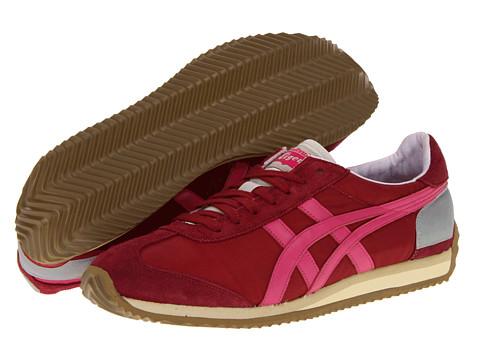 Adidasi ASICS - California 78î OG VIN - Burgundy/Neon Pink