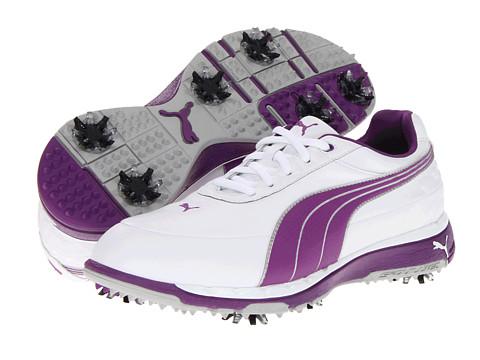 Adidasi PUMA - Faas Trac - White/Bright Violet