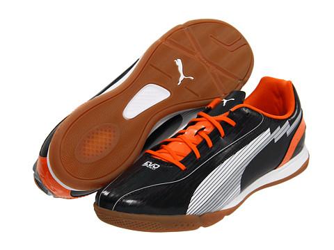 Adidasi PUMA - evoSPEED 5 IT - Black/White/Team Orange