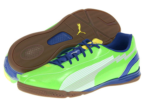Adidasi PUMA - evoSPEED 5 IT - Jasmine Green/White/Monaco Blue