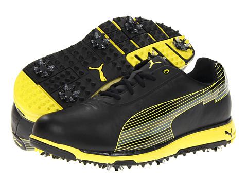 Adidasi PUMA - evoSPEED Faas Trac Golf Shoes - Black/Fluo Yellow