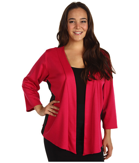 Sacouri Christin Michaels - Plus Size Ericka Jacket - Fuchsia/Black