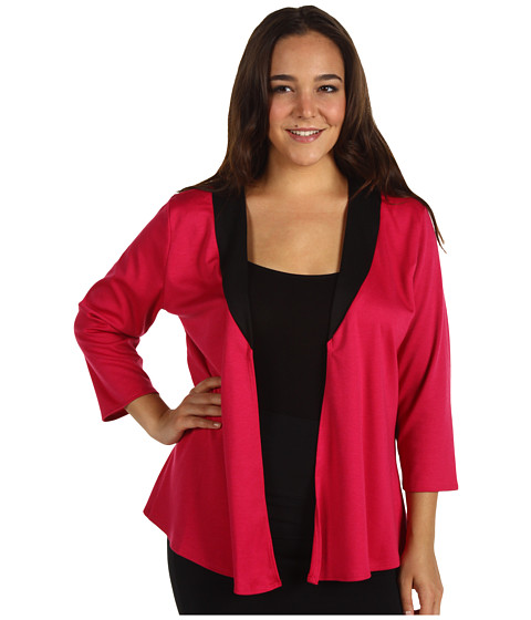 Sacouri Christin Michaels - Plus Size Quine Jacket - Fuchsia/Black