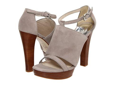 Pantofi Michael Kors - Dalia Platform - Stone Sport Suede