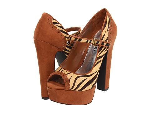 Pantofi Bebe - Pennie - Brown Combo