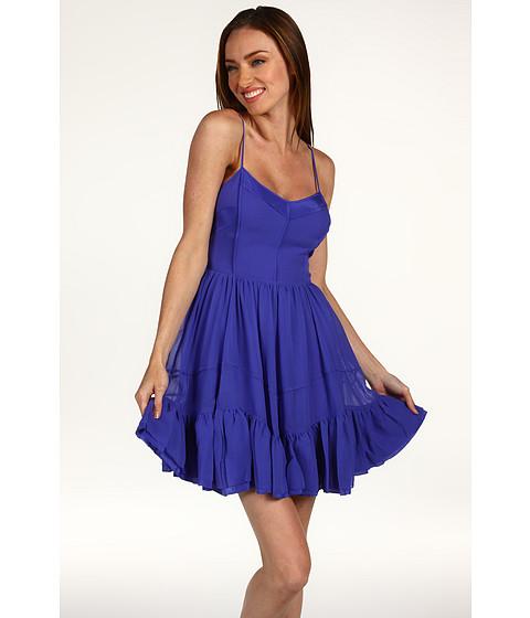 Rochii Juicy Couture - Chiffon Dress - Cobalt Glow