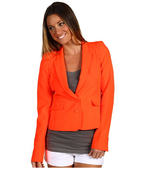 Sacouri Juicy Couture - Neon Poly Blazer - Ultra Orange