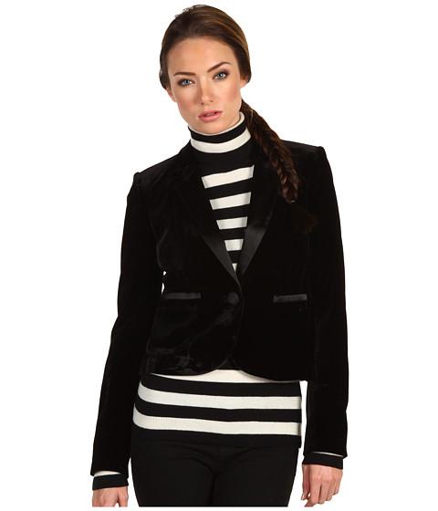 Sacouri Juicy Couture - Velvet Tuxedo Jacket - Black