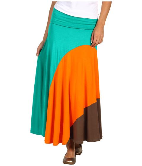 Pantaloni Gabriella Rocha - Prina Skirt - Green/Orange/Brown