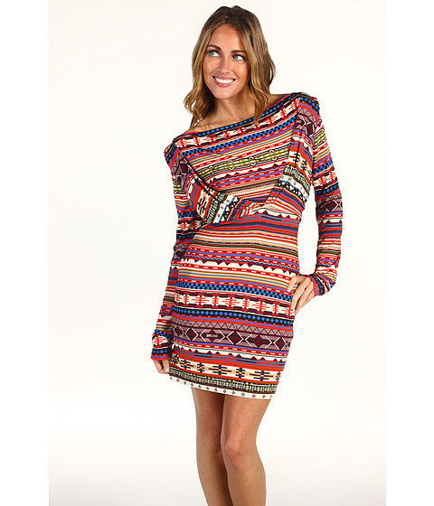 Rochii elegante: Rochie Just Cavalli - Cherokee Jersey Dress - Multi