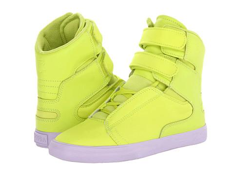 Adidasi Supra - Society - Acid Yellow/Pastel Lilac