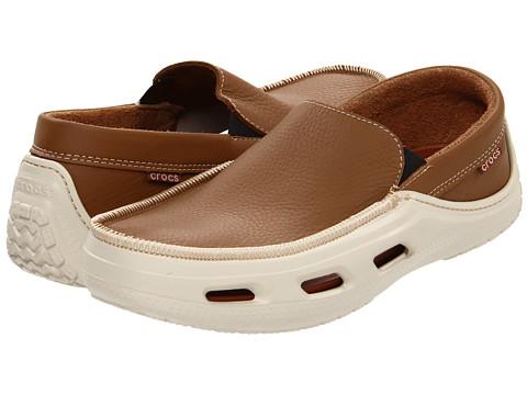 Pantofi Crocs - Tideline Sport Leather - Hazelnut/Stucco
