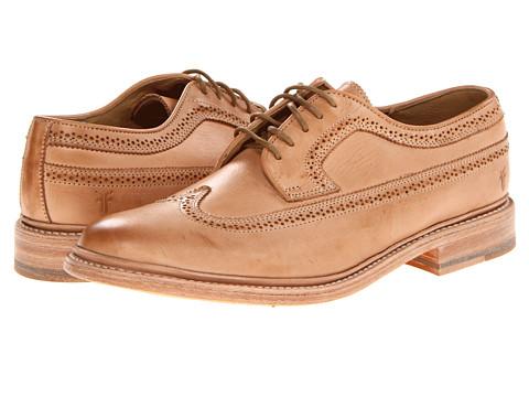 Pantofi Frye - James Wingtip - Sand