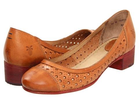 Pantofi Frye - Carson Perf Heel - Tan