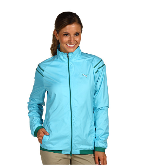 Bluze PUMA - Golf Kinetic Stretch Jacket - Blue Atoll