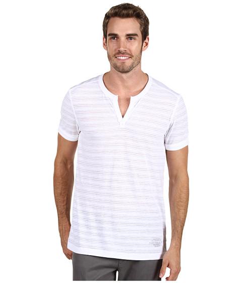 Tricouri Calvin Klein - Burnout Knit - White