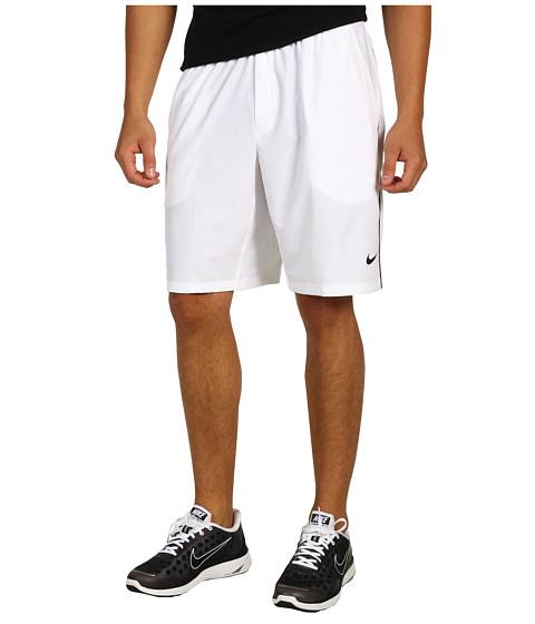 Pantaloni Nike - Ten-Inch Stretch Woven Short - White/Black/Black